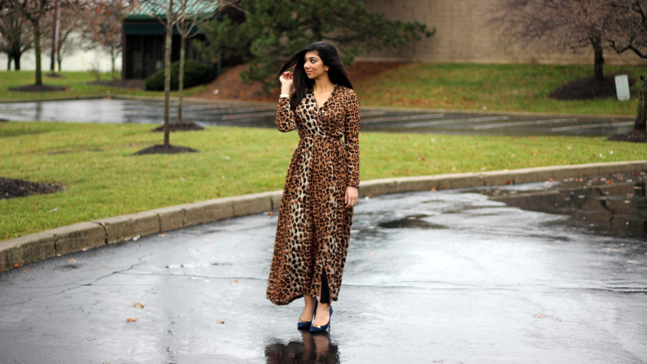HAPPY NEW YEARS! + The Amna Ali  X  AR Bohler : Printed Wrap Dress